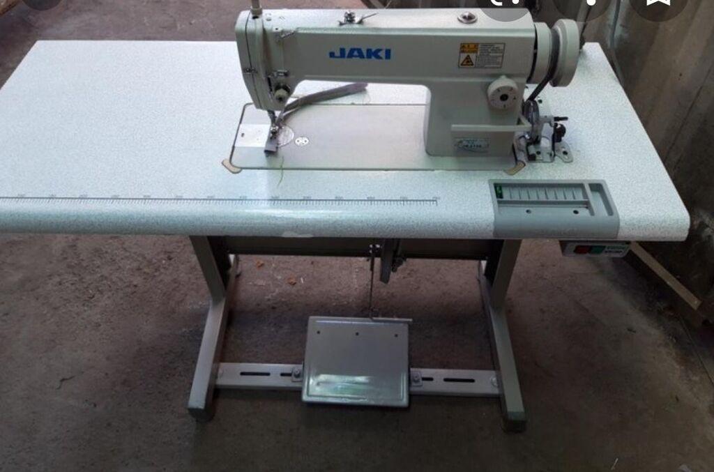 Продаю б/у швейную машину jaki в хорошем состоянии