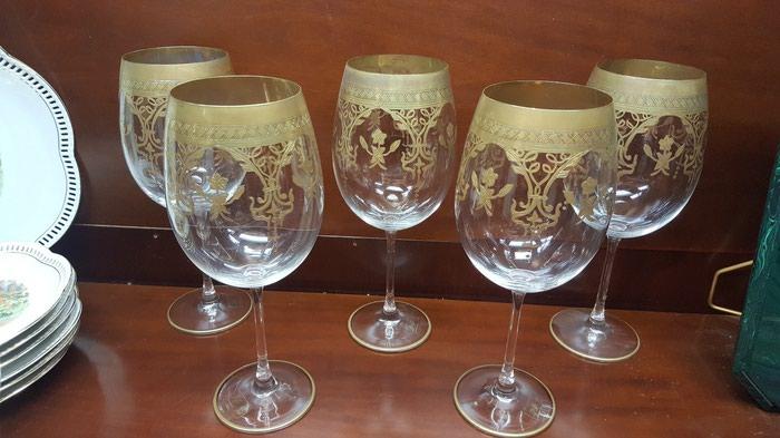 5 Ποτήρια Napoleon με φύλλο χρυσου σε Αθήνα