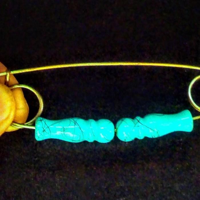 Декоративная металлическая булавка украшенная цветным стеклом. σε Αθήνα