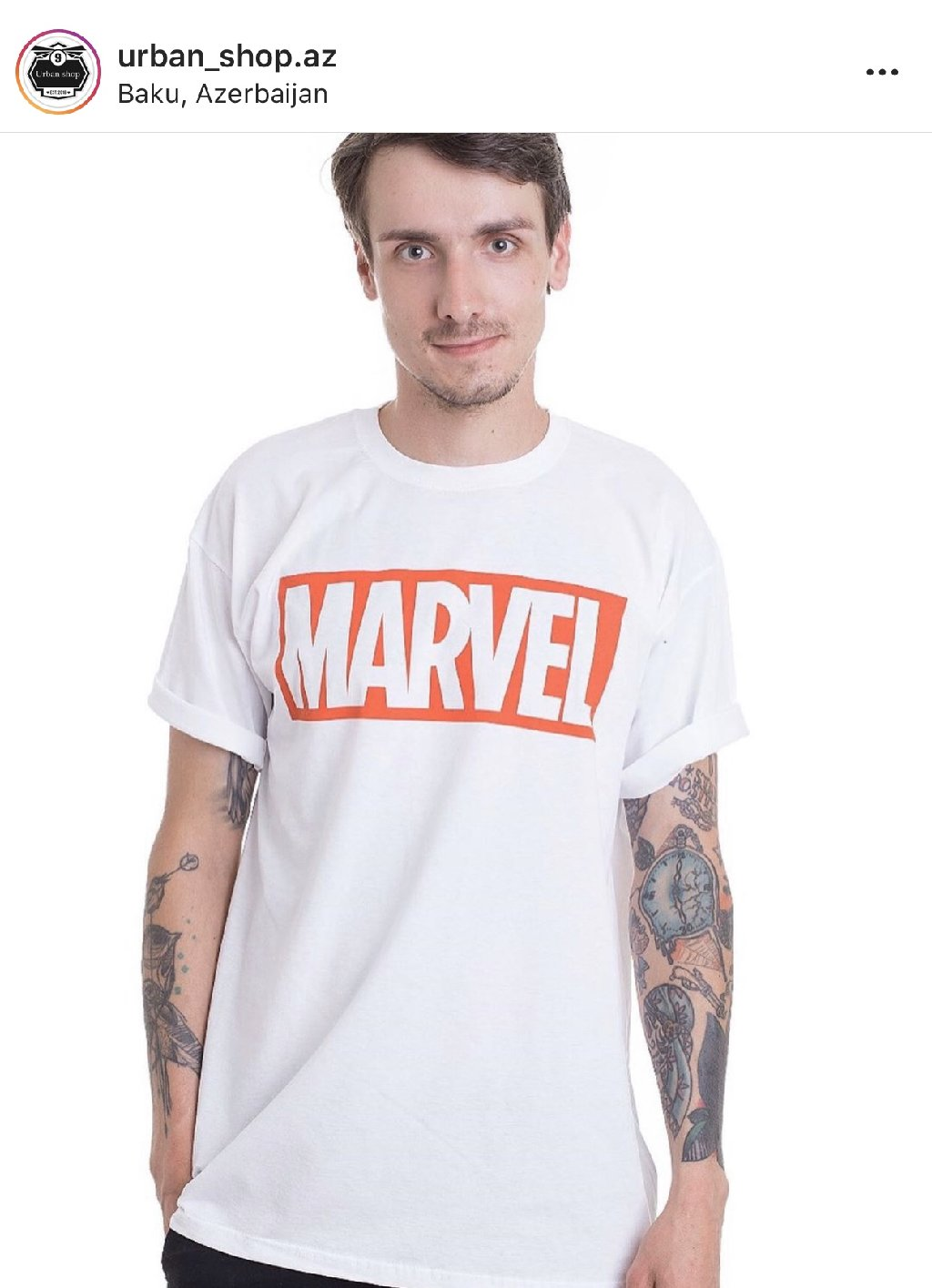 Marvel t-shirts, razmer (M)