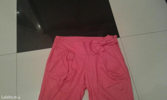 Trofrtaljne pantalone za leto veličine xs s m