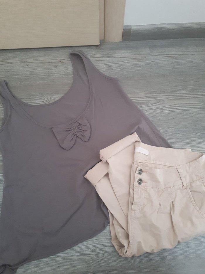 Σετ παντελονι+ μπλουζα αλλα πωλουνται και χωριστα. Καλυπτουν  s/m. Η μ σε Αθήνα