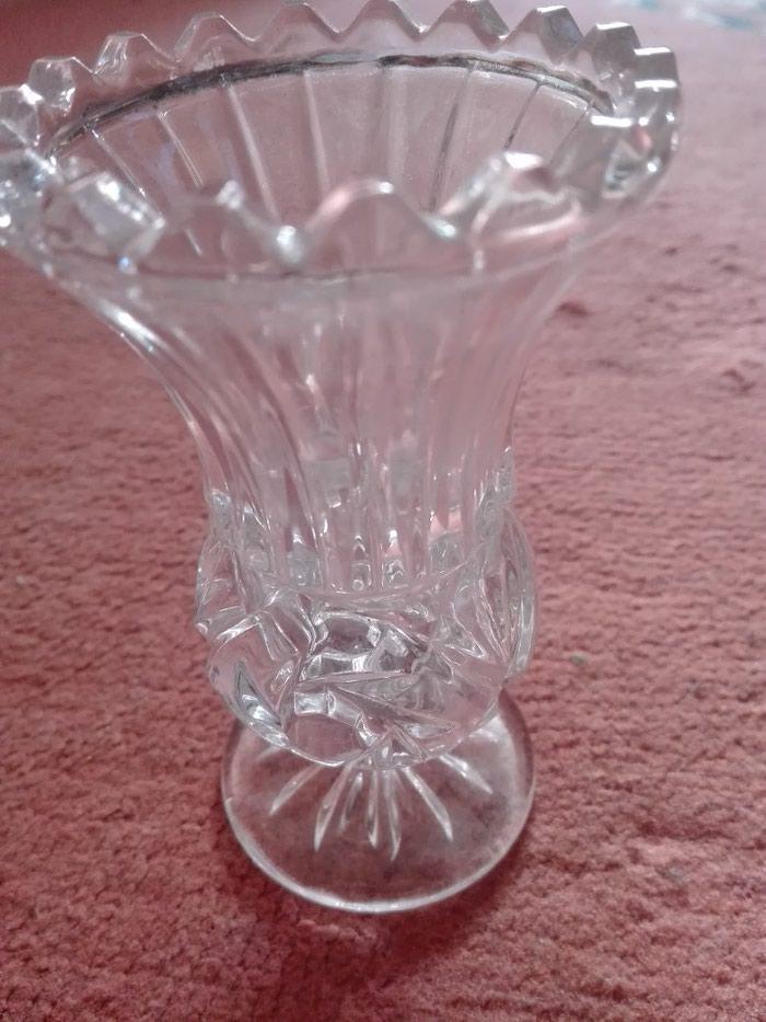 Vaza kristalna manja odlicno ocuvana. Photo 1