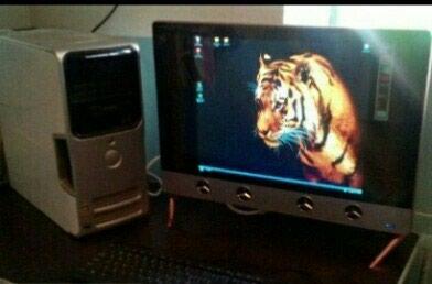 Компьютер в отличном состоянии монитор 24 дюйма Плюс ТВ. Photo 0