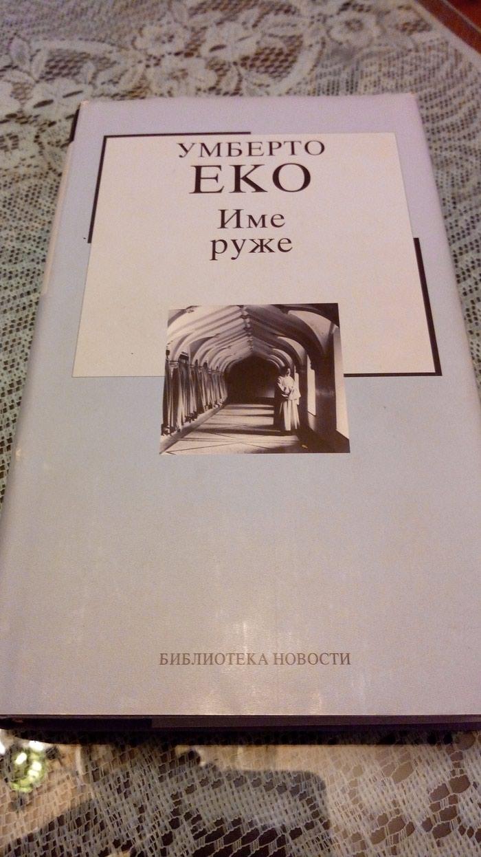 Umberto Eko knjiga Ime ruze. - Kraljevo