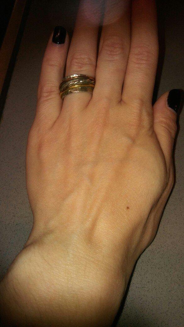 Χειροποιητο. φαρδυ δαχτυλιδι ασημι 925.. Photo 4