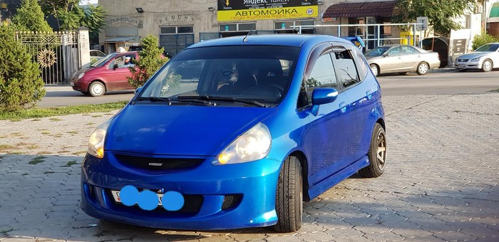 Honda Jazz 2008. Photo 8