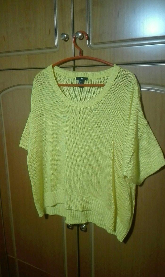 Κίτρινο ανοιξιάτικο πουλόβερ large for 2 EUR in Λαμία  Γυναικείος ... f213a808f62