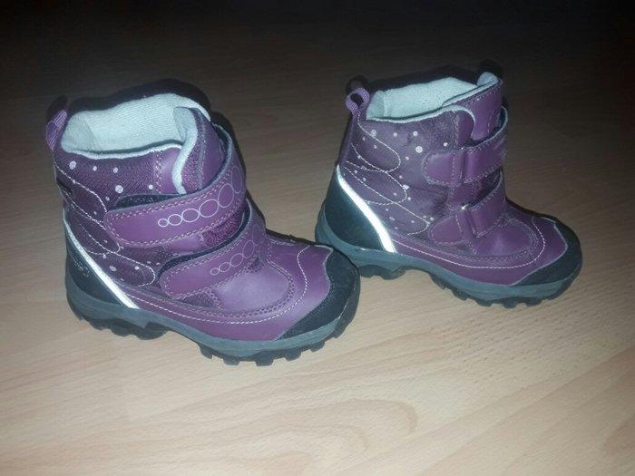 Zimske tople cizme za devojcice. Jako malo nosene, ocuvane. Broj 28, z - Novi Sad