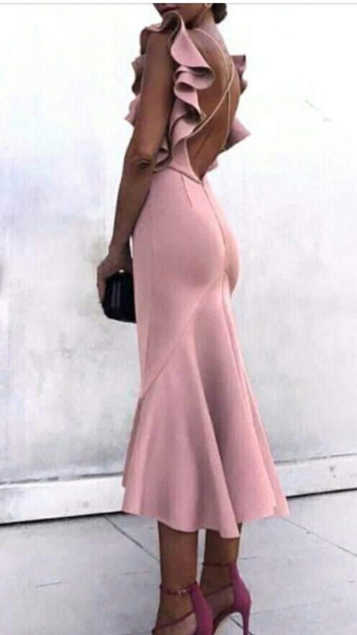 ×NOVO sa etiketom divne duge haljine u vise boja - Beograd