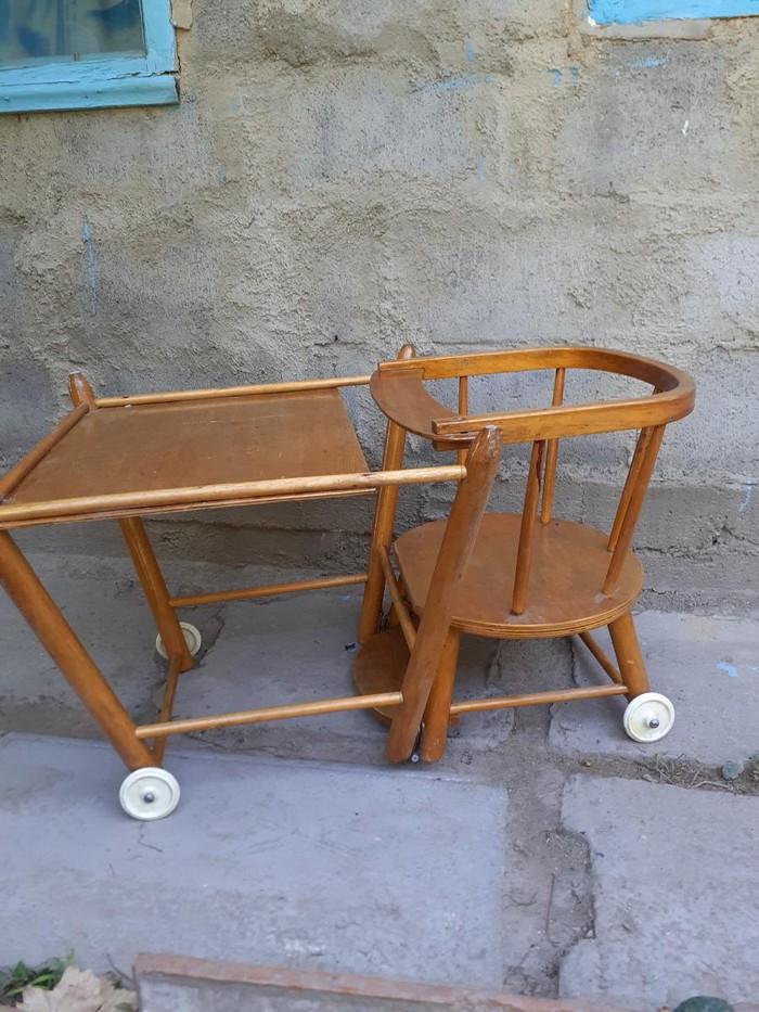Детский  стульчик трансформер, для кормления . Photo 1