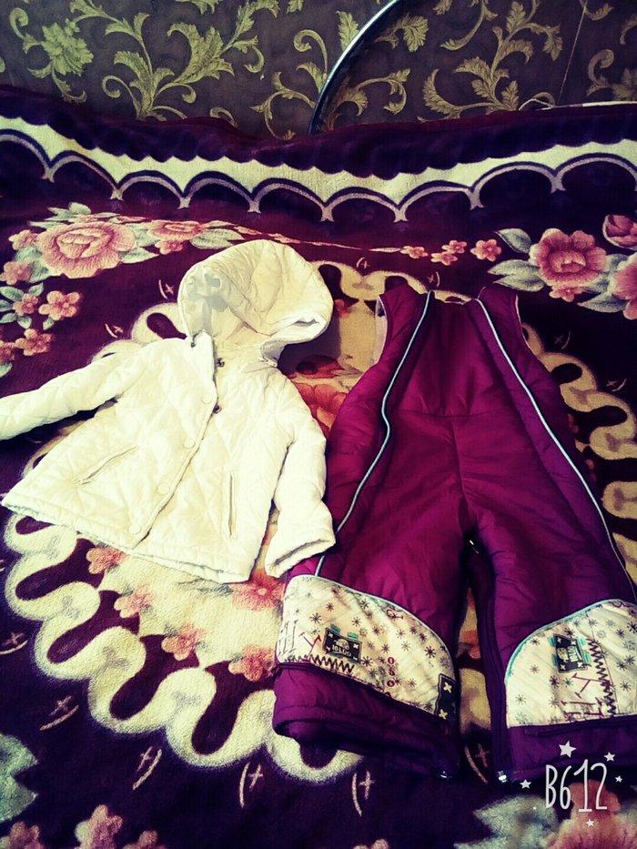продаю комбинезон на 3,4 года. отдам за 200 сом. и курточку на 1год. в Бишкек