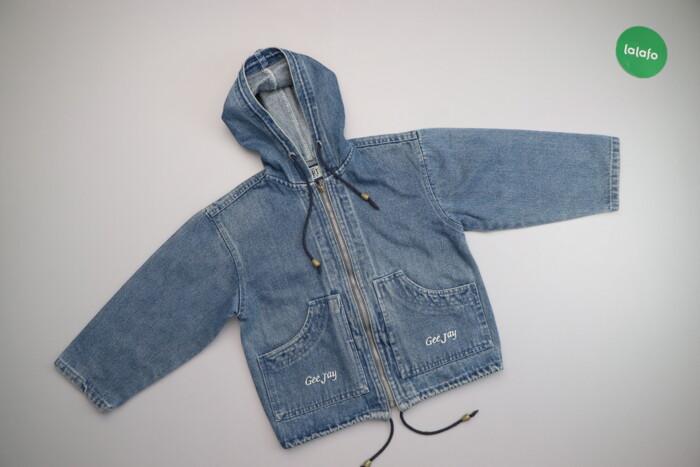 Жіноча стильна джинсова куртка Gee Jay, p. XL    Довжина: 49 см Ширина: Жіноча стильна джинсова куртка Gee Jay, p. XL    Довжина: 49 см Ширина