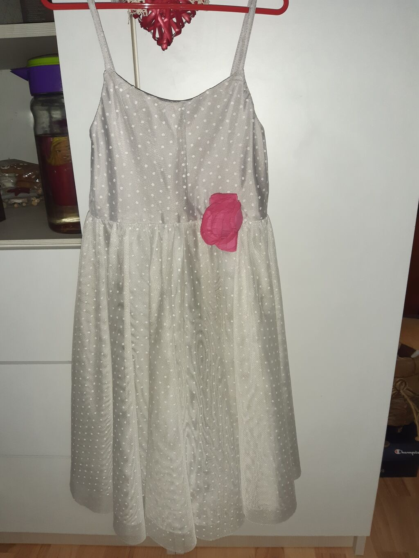 Decije haljine - Beograd: H&M haljina, jednom obučena. Veličina 7-8