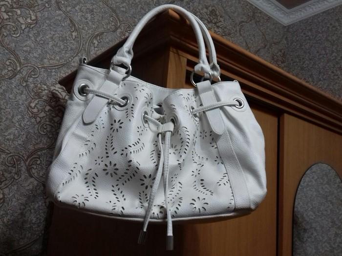 b6626164fdcd Продаю сумку новую летнюю белого за 500 KGS в Кок-Ойе: Сумки на ...