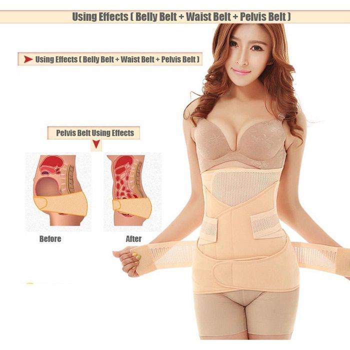 Послеродовой бандаж для похудения бади хомиладори