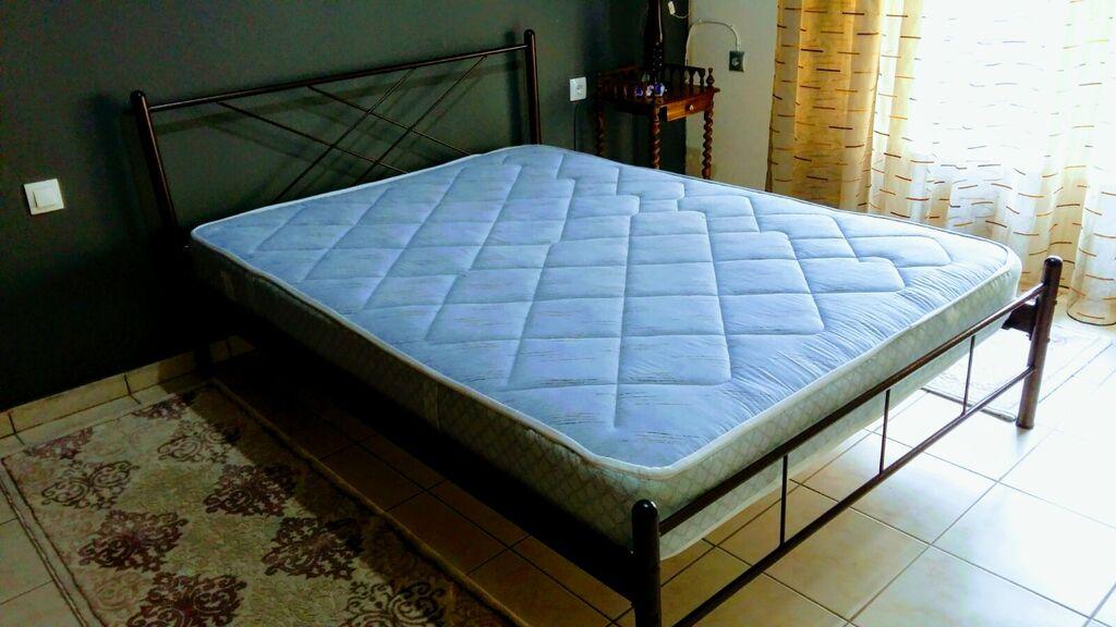 Κρεβάτι διπλό με στρώμα!!! ΕΥΚΑΡΙΑ