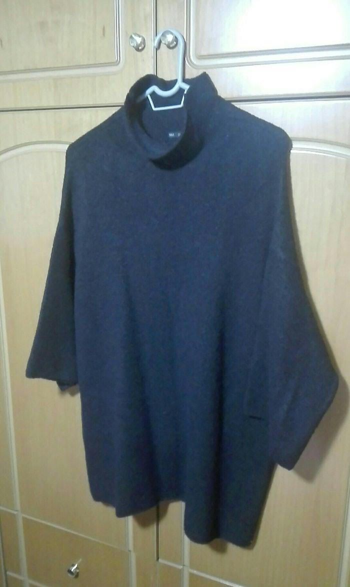Πουλόβερ μαύρο zara large. Photo 0