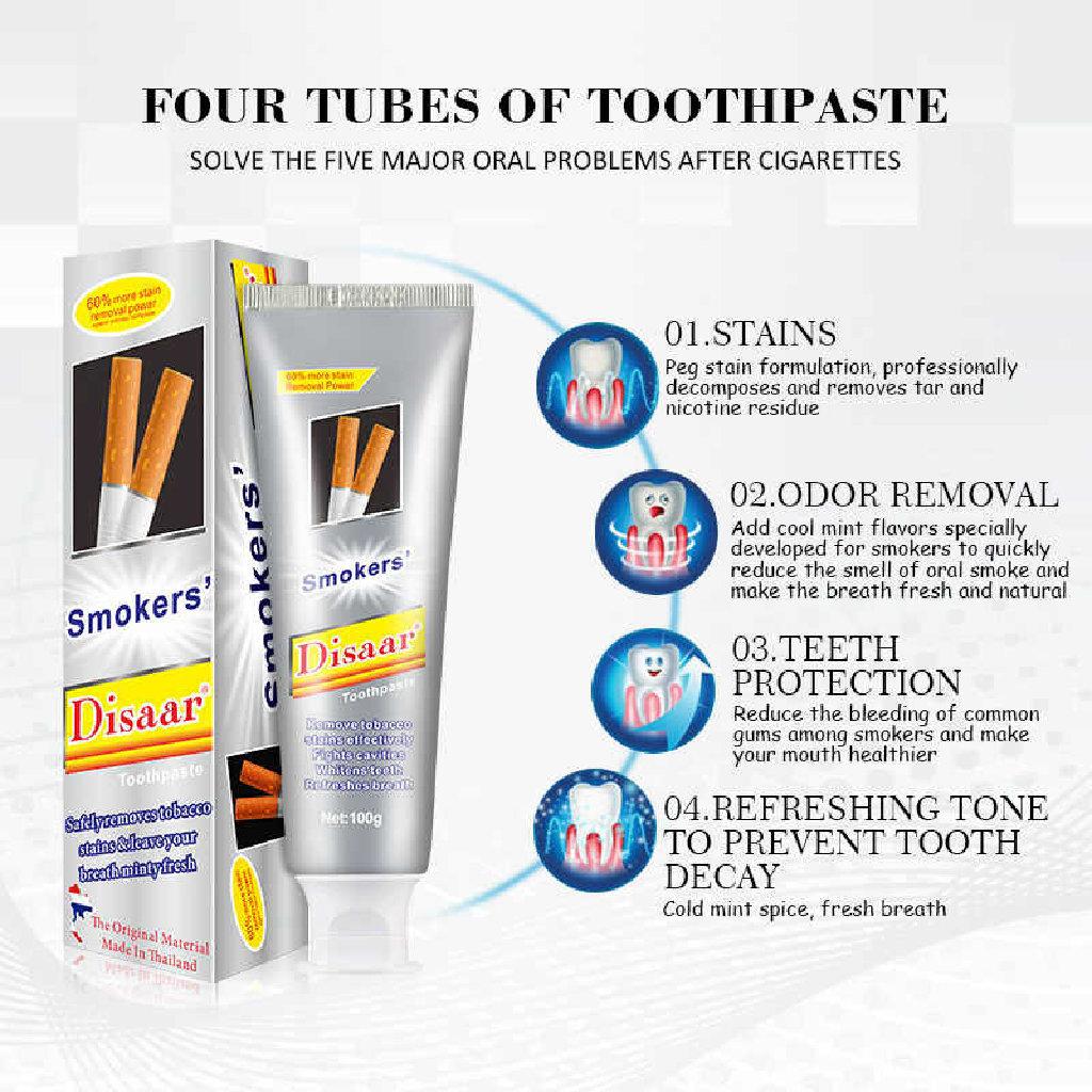 Disaar Smokers toothpaste diş məcunu