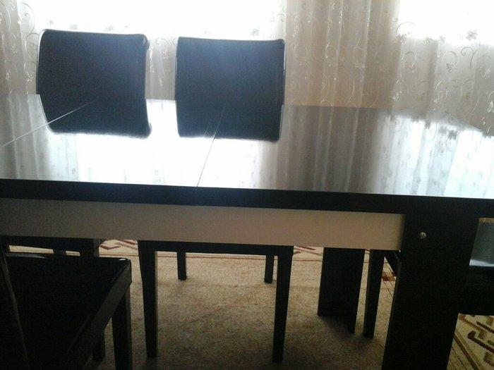 Turkiyeden alinib yenidir 6stul ve masasi acilandi birlikde 1200. Photo 2