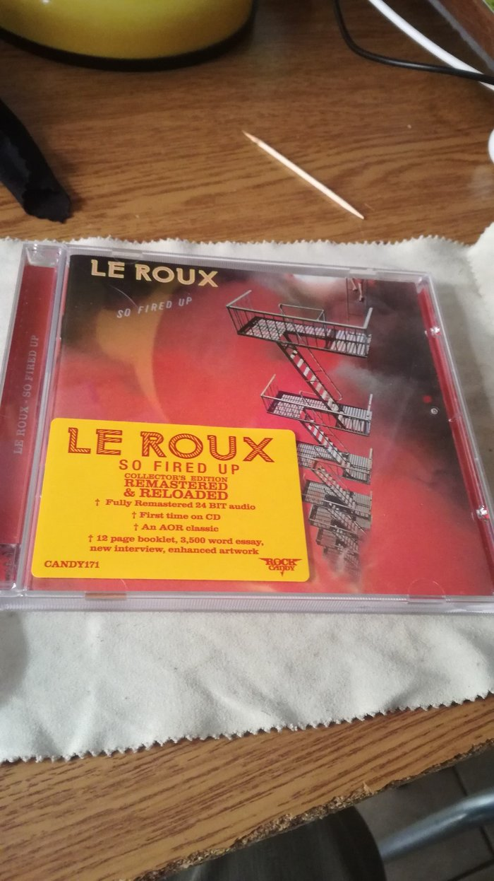 Lê Roux's So Fired Up Rock Candy CD. Sticker Included. σε Μοσχάτο