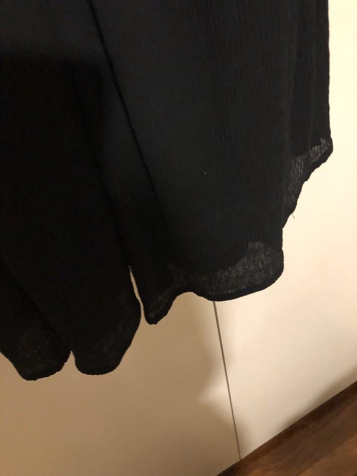 Όμορφο φόρεμα μαύρο και κρέμα από LIMITE size L!!. Photo 2