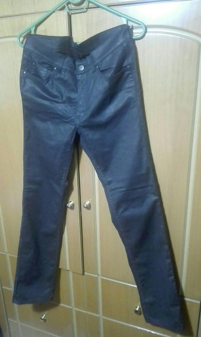 Δερμάτινο τζιν παντελόνι medium σε Λαμία