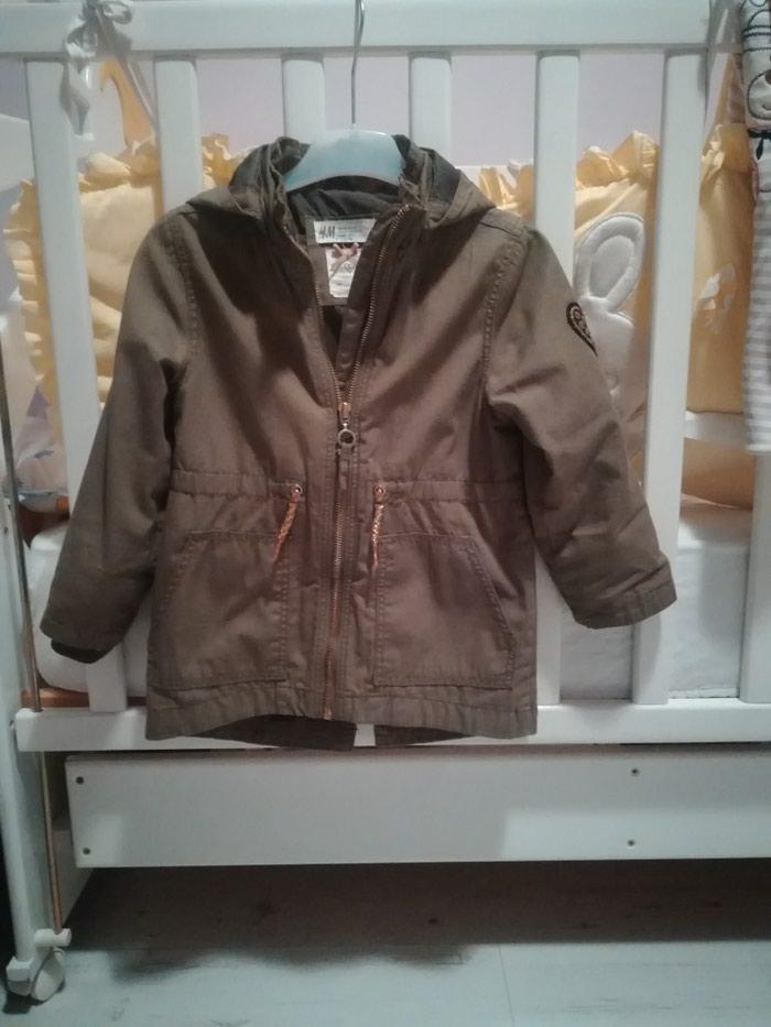 Decija zenska jaknica H&M br. 98