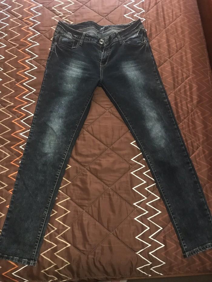 Φωτεινη , τζιν γυναικειο παντελονι ελαστικο νουμερο xl . Photo 0