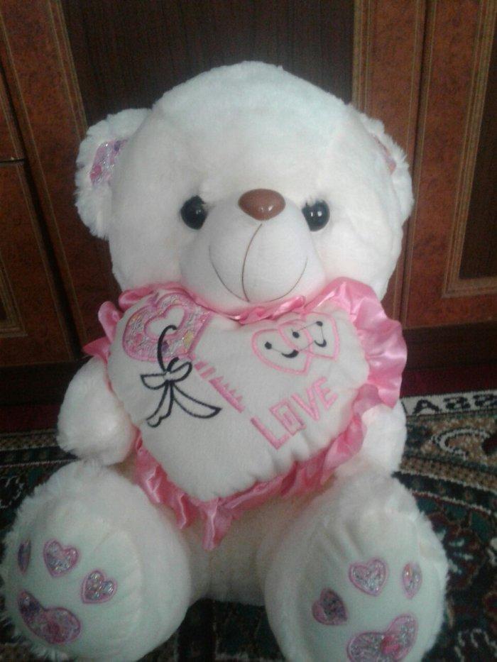 Продаю плюшевых медведей цена от 100 и 150с. размеры разные  70 и 50. Photo 2