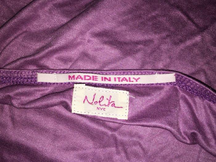 Nolita μωβ , εξώπλατη μπλούζα ,με έναν ώμο. Photo 5