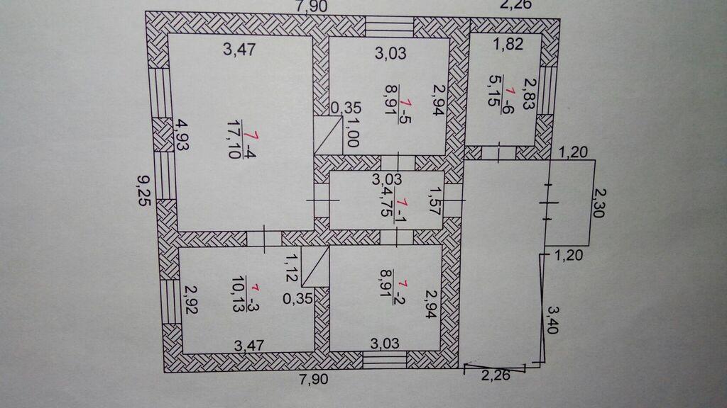 Продам Дом 76 кв. м, 6 комнат