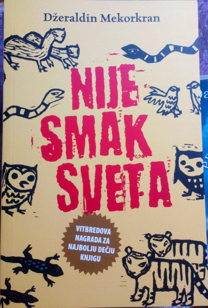 Nova nekorišćena knjiga izdavač Laguna dobitnik nagrade - Beograd