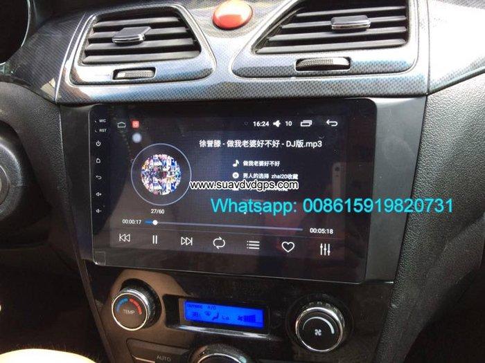JAC J5 Car audio radio update android GPS navigation camera