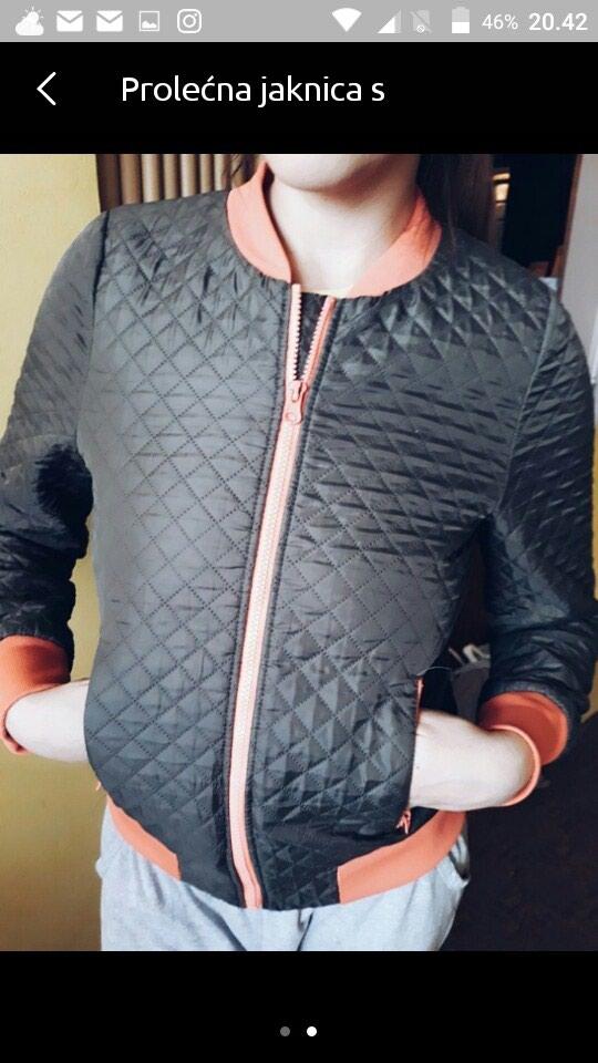 Ptelepa jaknica za prelazno doba MENJAM ZA GARDEROBICU ZA DECAKA BEBU - Krusevac