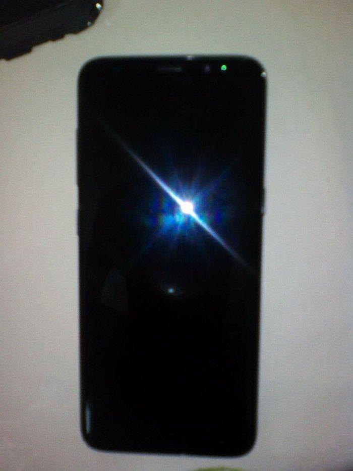 Samsung galaxy s8 midnight black αγορασμένο στης 10-4-2018Έκδοση. Photo 1