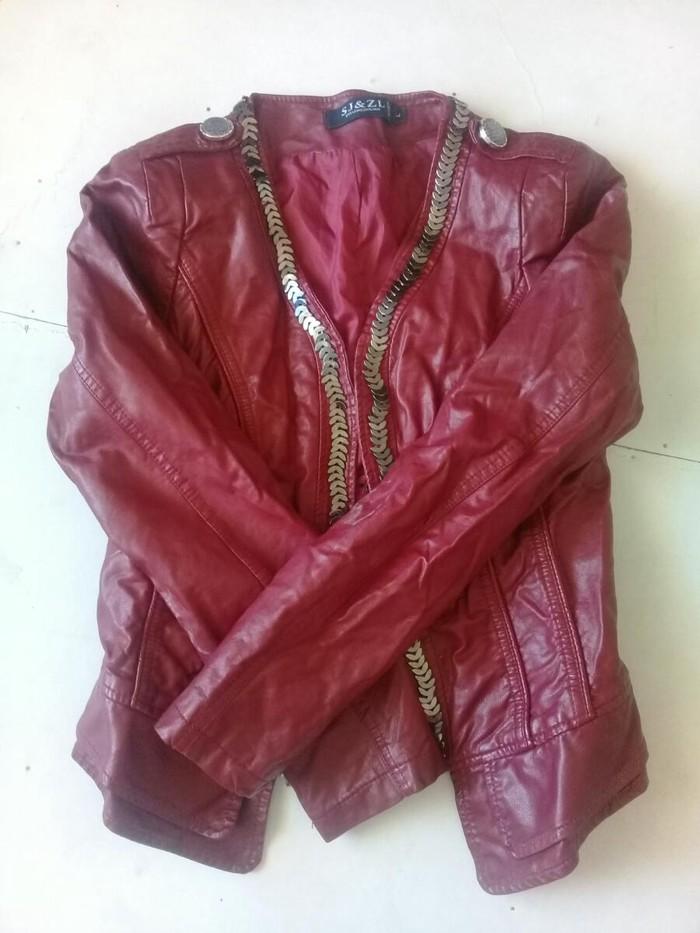 Кожаная курточка 800с 44 р. Photo 0