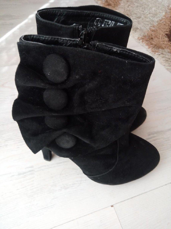 Ženske čizme - Loznica: Duboke cipele u dobrom stanju odozdo su pojacane br 36