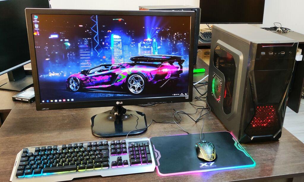 Мощный компьютер в полном комплекте, для работы, учёбы и под игры: Мощный компьютер в полном комплекте, для работы, учёбы и под игры.