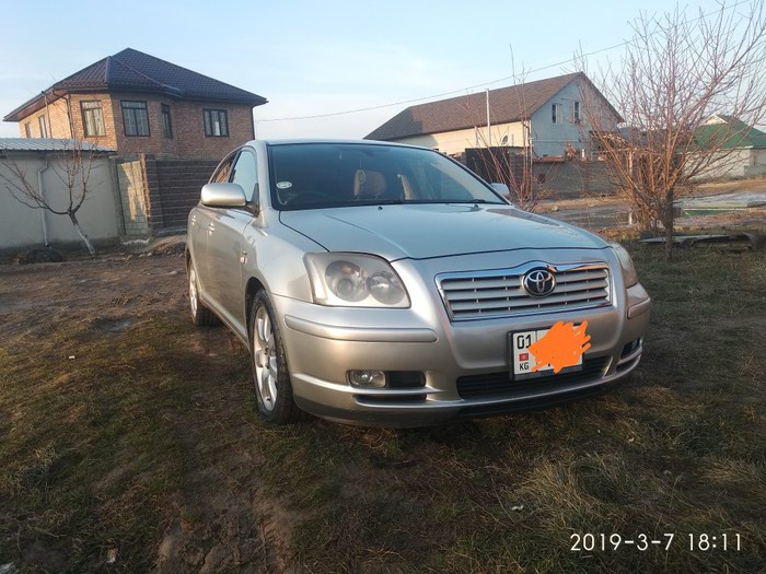 Toyota Avensis 2004. Photo 0