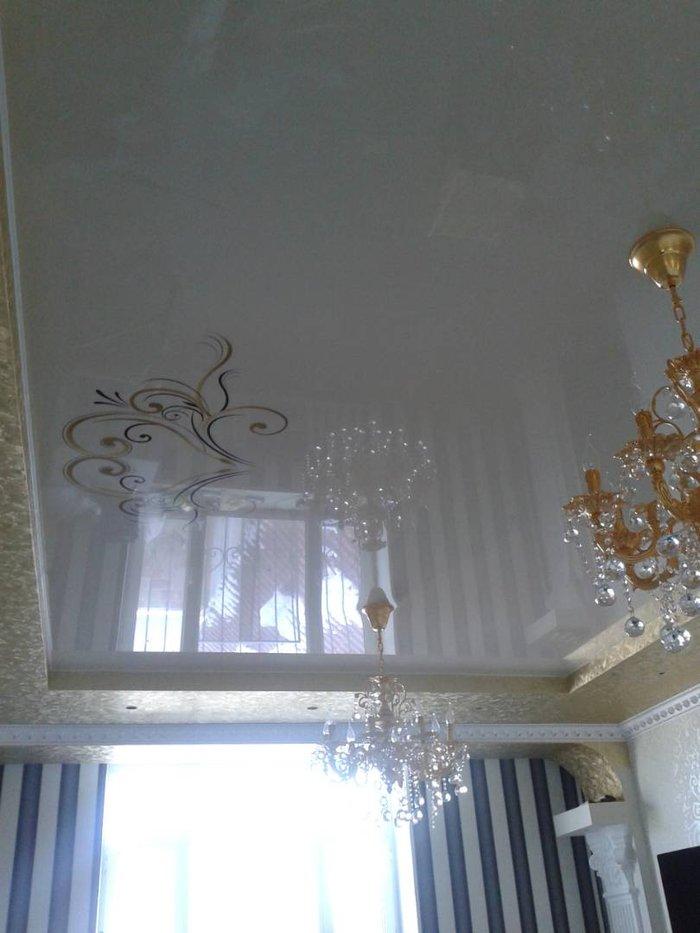 Изготовление натяжных потолков. Натяжные потолки. Натяжной потолок.. Photo 2