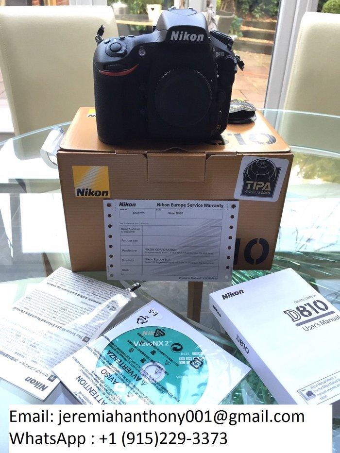 Νέα ψηφιακή φωτογραφική μηχανή Nikon D810 /. Photo 1