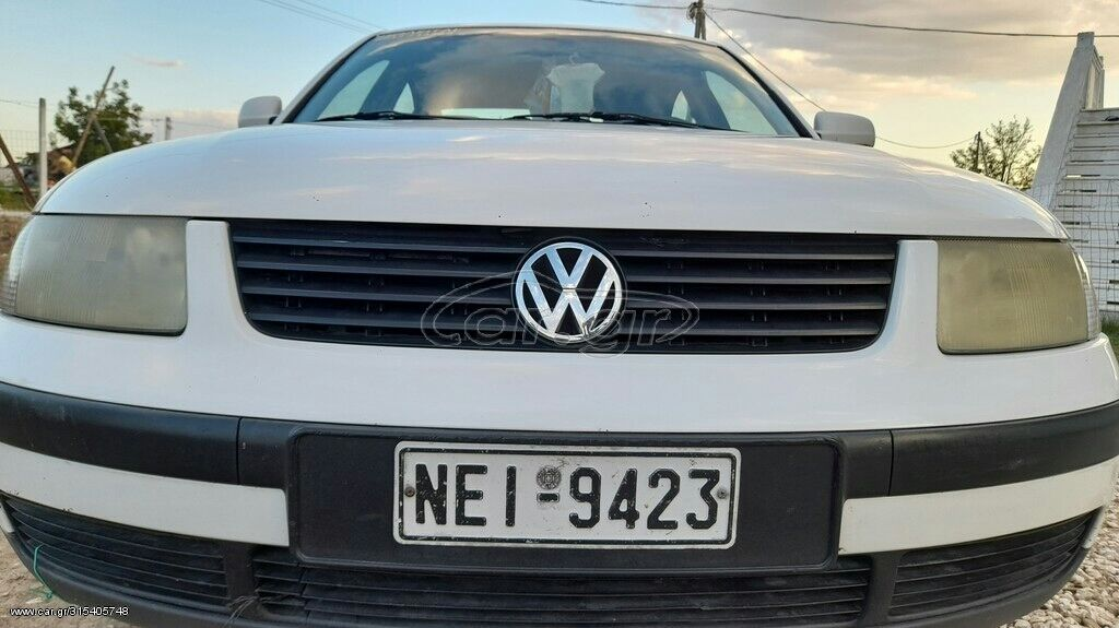 Volkswagen Passat 1.6 l. 2001 | 200000 km | η αγγελία δημοσιεύτηκε 30 Αύγουστος 2021 18:34:58 | VOLKSWAGEN: Volkswagen Passat 1.6 l. 2001 | 200000 km