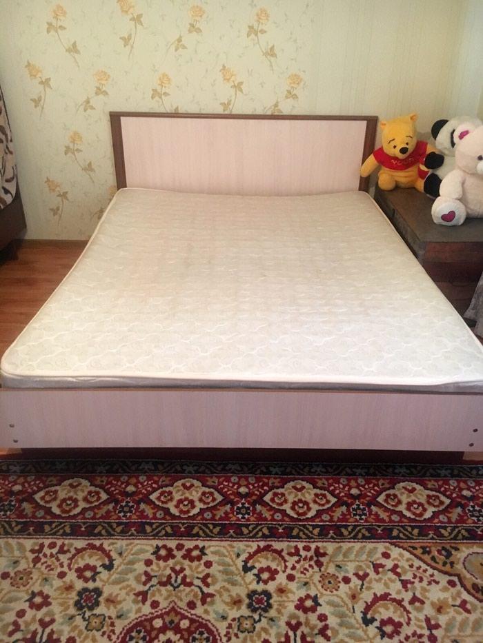 Срочно 2х спалтный кроват с матрасом в Бишкек