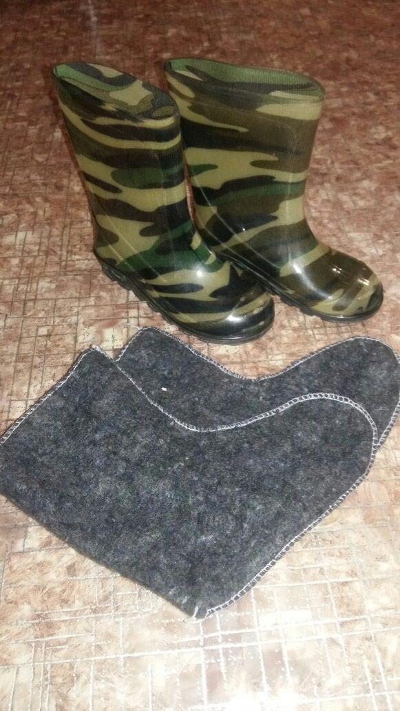 Резиновые сапожки бу размер 26 в Бишкек