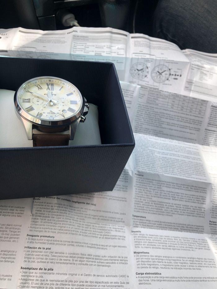 Мужские Серебряные Классические Наручные часы Casio. Photo 1