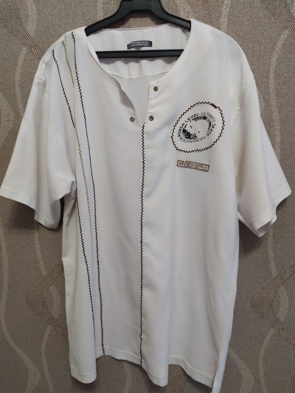 Мужская рубашка с вышивкой, размер XL