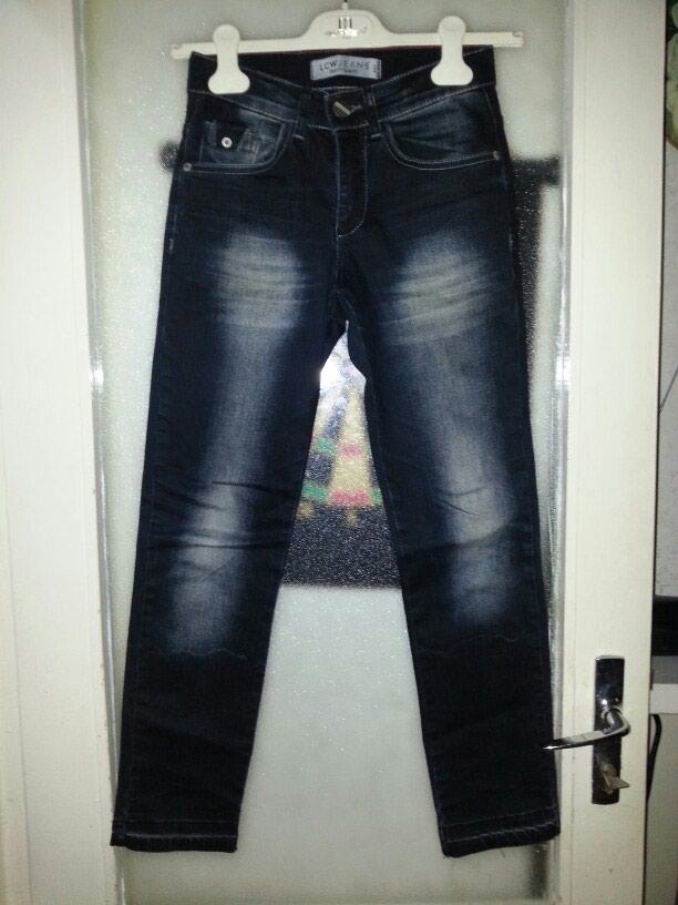 Детские джинсовые брюки. 8-9 лет. Photo 0