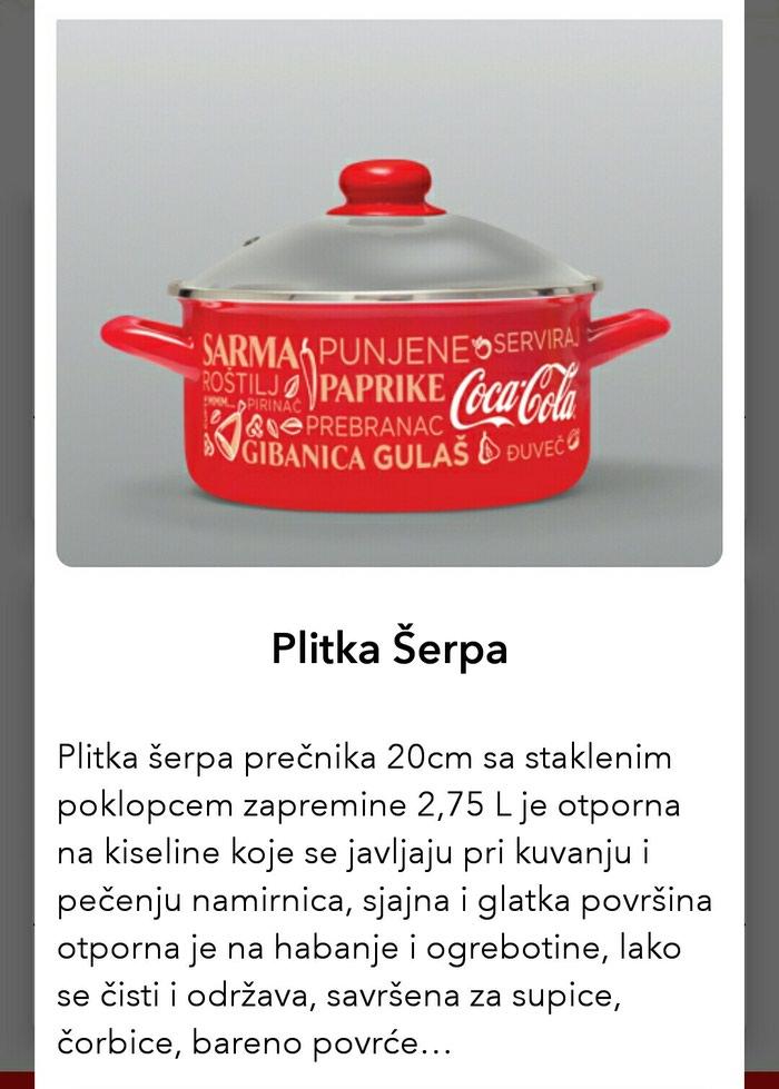 COCA-COLA PLITKA SERPA. Photo 0