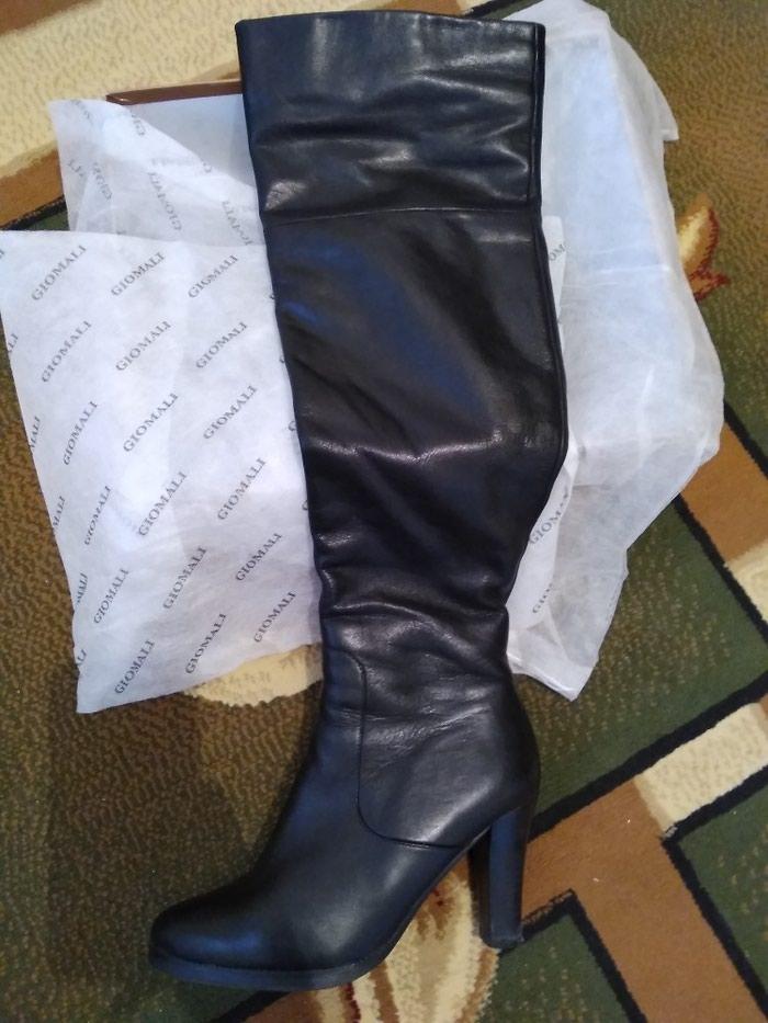Ботфорты кожаные.Евромех.состояние отличное.размер 39.б/у. в Бишкек
